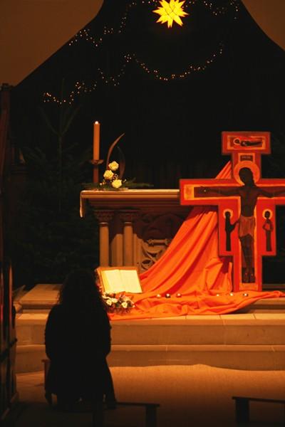autel et croix