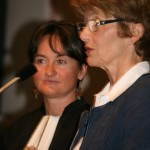 Martine Lorber et pasteur Rohrbacher