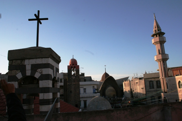 Saverne - églises et mosquées à Homs