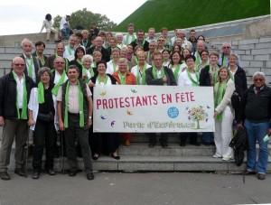 protestants en fête