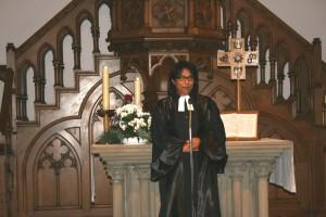 le pasteur Randrianarisoa