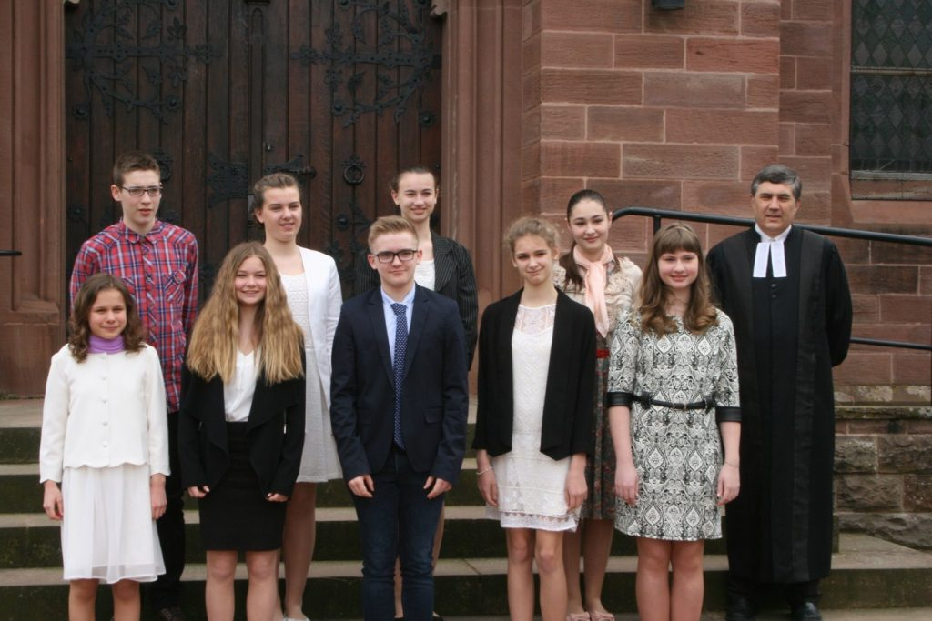 Confirmation groupe